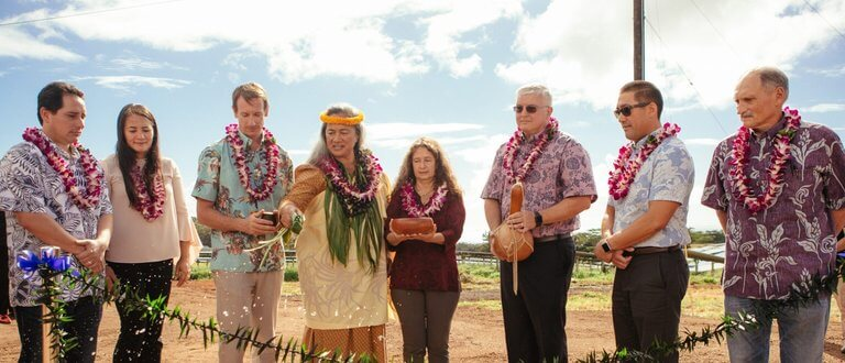 Lawai Site Blessing